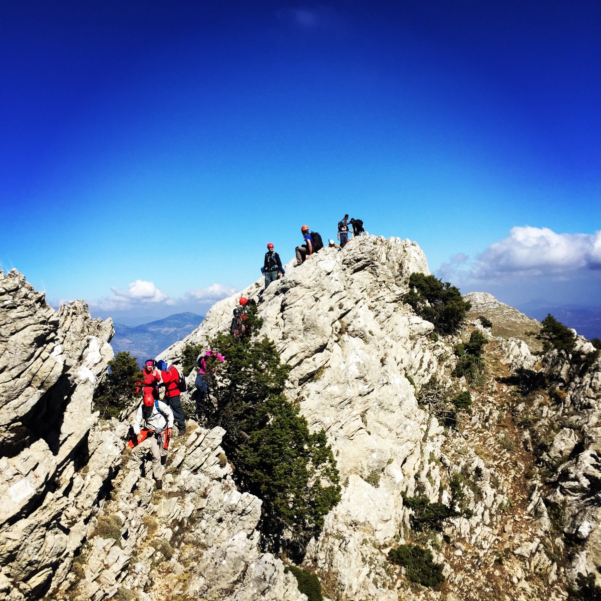 Scrambling in Artemisio Mountain (Artemisio Arete)