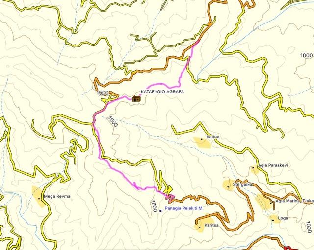 Agrafa_PanagiaPelekiti_Karamanoli_Neraida_Hiking_Map