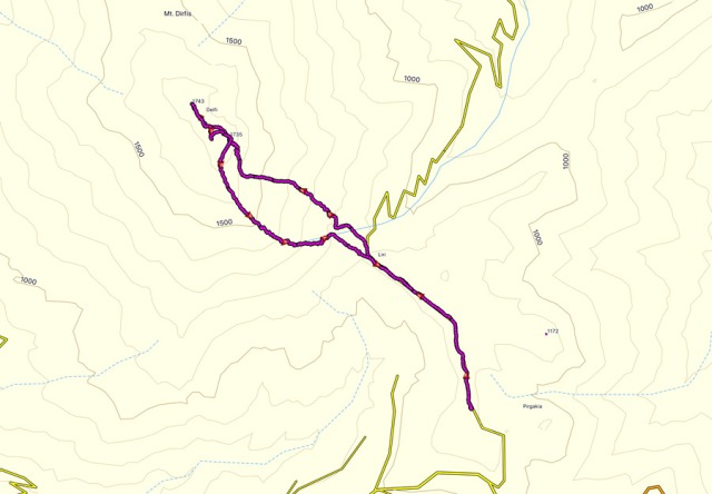 Dirfi_Mountain_Winter_Ascent_Olympus_Mountaineering_Map