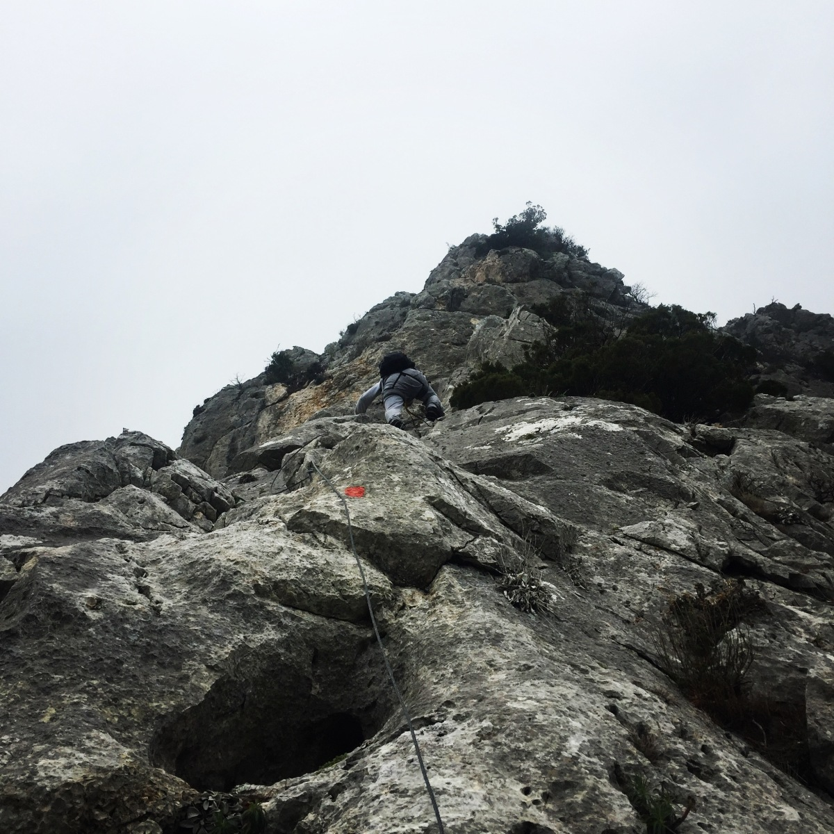 Via Ferrata Arma - Parnitha Mountain