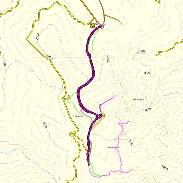 Aroani_Chelmos_Helmos_Winter_Mountaineering_Map
