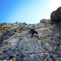 Climbing near Athens Airport - Etos Spata