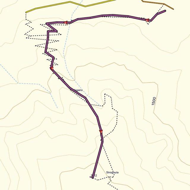 Winter_Climb_Tzoumerka_Athamanika_Stroggoula_Agrofylakas_Couloir_Map