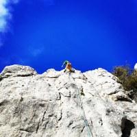 Climbing in Didima - Argolis