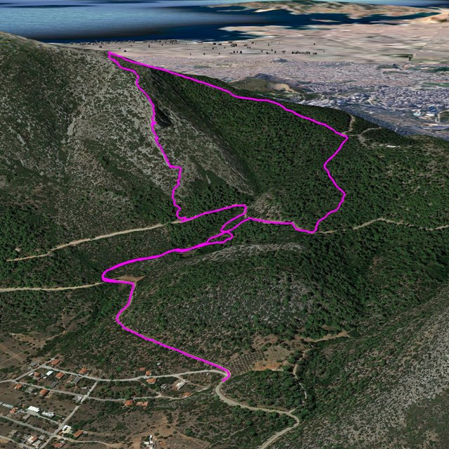 Hymettus_West_Ridge_Prosilio_Trad_Climbing_3D_01