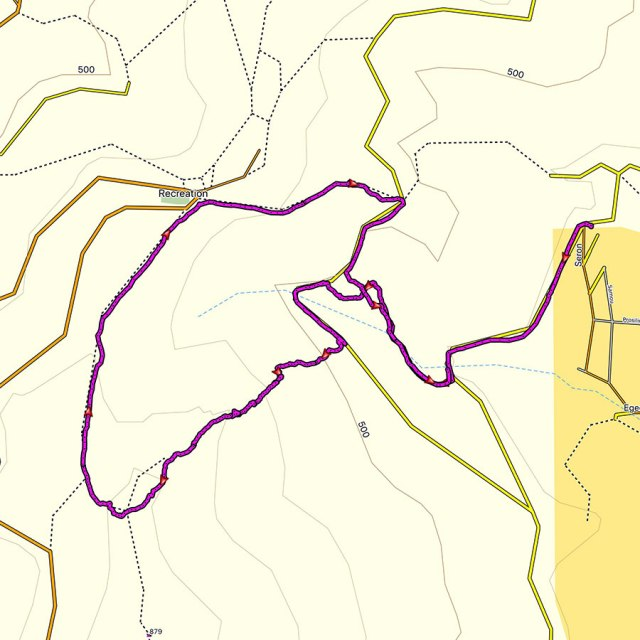 Hymettus_West_Ridge_Prosilio_Trad_Climbing_Map