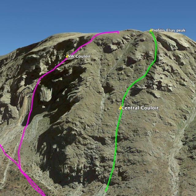 Hiking_Climbing_Kyllini_Ziria_Profitis_Elias_Peak_Central_Couloir