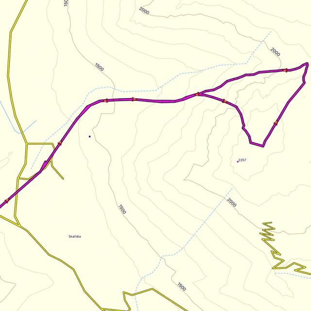 Hiking_Climbing_Kyllini_Ziria_Profitis_Elias_Peak_MAP