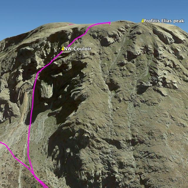 Hiking_Climbing_Kyllini_Ziria_Profitis_Elias_Peak_NWCouloir_02