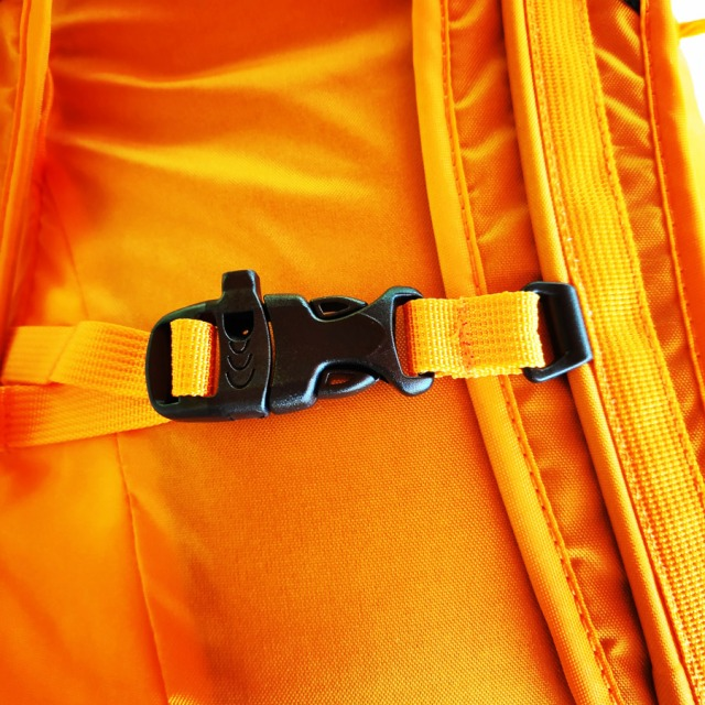 The North Face Verto 27 Backpack Review shoulder strap detail