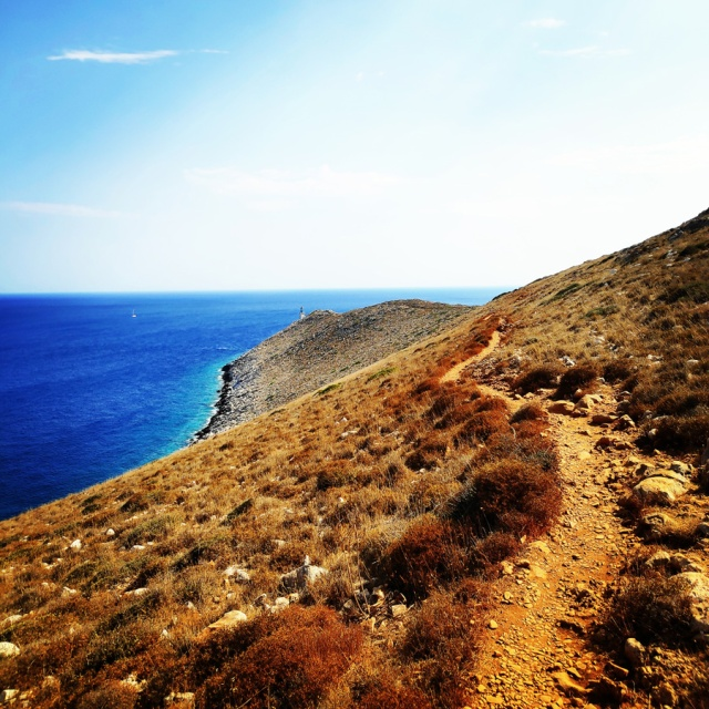 Hiking in Cape Tainaron Matapan Southmost point of Greece