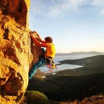Splendid view while climbing