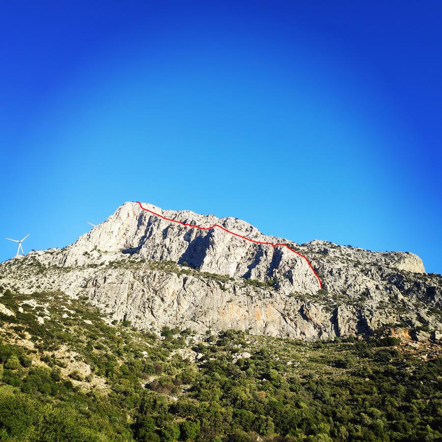 Climbing_South-East_Ridge_Ortholithi_Long_Run_Route