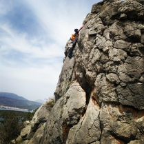 at the crux of pitch one