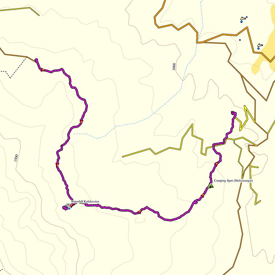 Hiking_in_Tzoumerka_Athamanika_Pramanta_Kefalovriso_Waterafall_Melissourgoi_Map