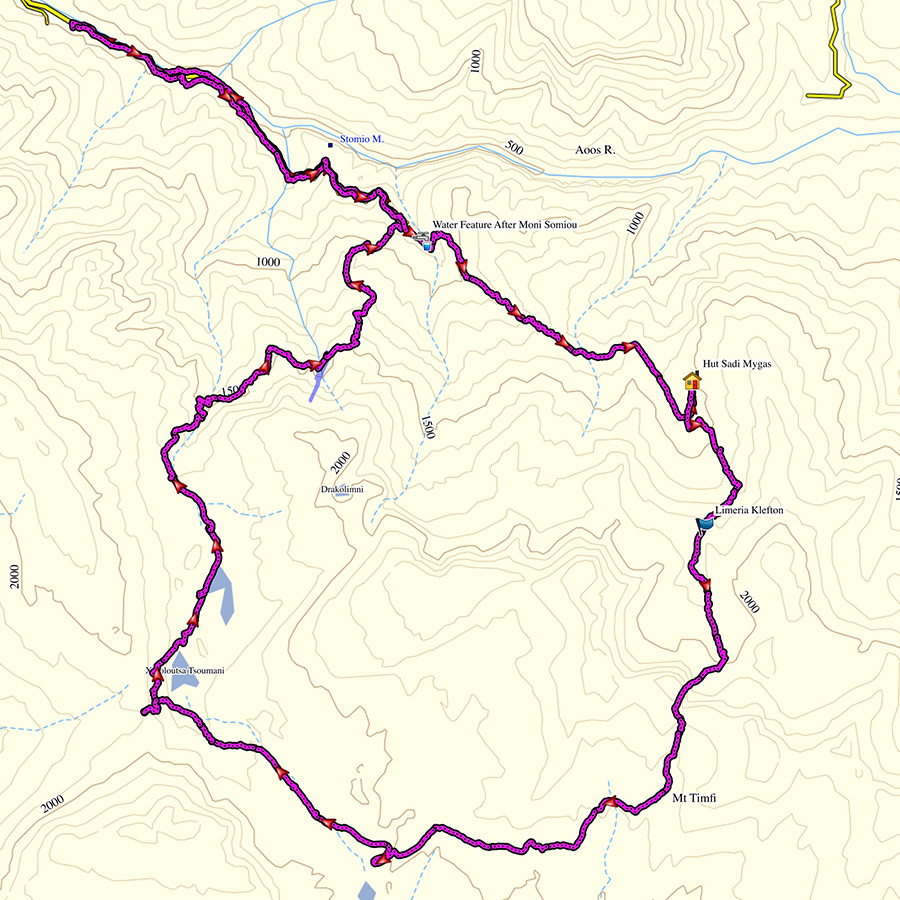 Mount_Tymfi_Pindos_North_Side_Thru-Hike_Part1_Konitsa_Moni_Stomiou_Sadi_Mygas_Summary_Map_Complete