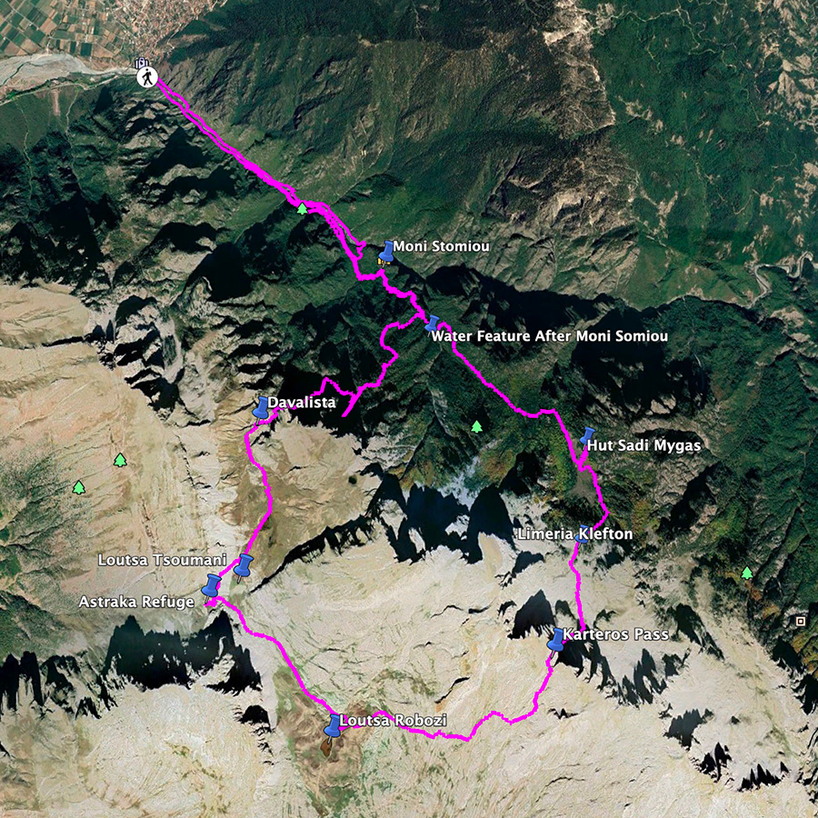 Mount_Tymfi_Pindos_North_Side_Thru-Hike_Part1_Overview_Map